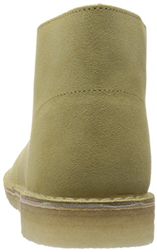Clarks Desert Boot maple suede Pale Green