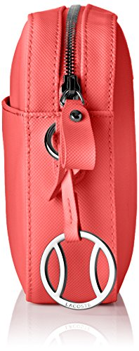 Lacoste NF1875DC, Bolso Bandolera para Mujer, 16.5 x 5 x 24.5 cm teaberry (Teaberry)