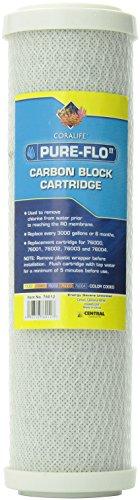 Coralife Metal - Coralife Pure Flo II R/O Carbon Block Cartridge 76000, 76001, 76002, 76003, 76004