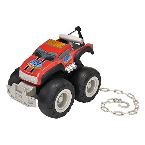 Max Tow Truck Turbo Speed Truck, Red (Truck Monster Sound)