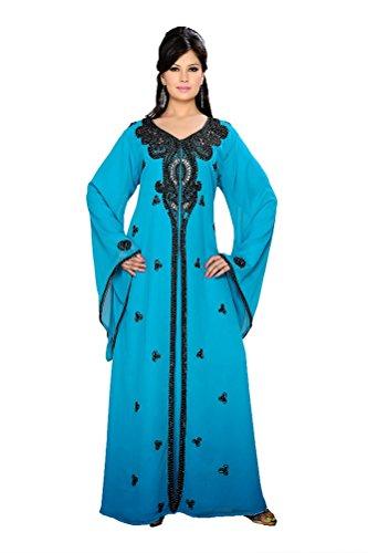 Arabische PalasFashion Plus Size Kleid Tunika/Kaftan KKPF17258 Women's