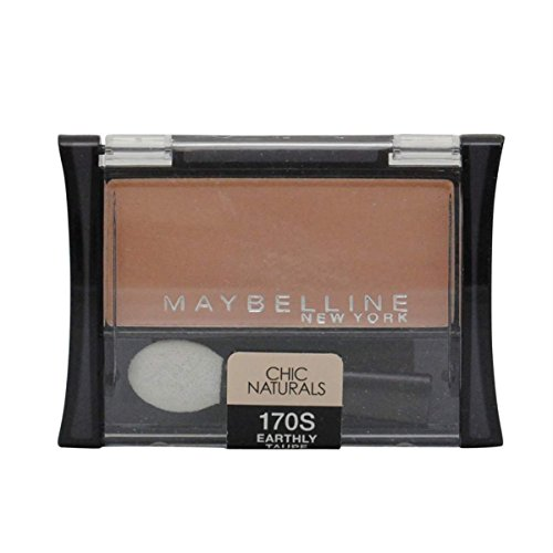 Maybelline New York Expert Wear Eyeshadow Singles, Earthly Taupe 170 S Matte, 0.09 Ounce