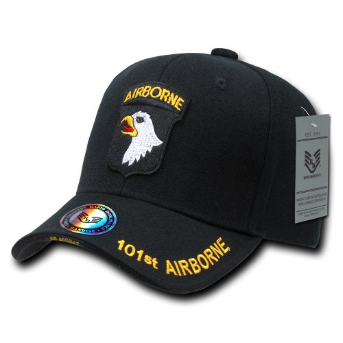 Rapiddominance 101st The Legend Military Cap, Airborne/Black