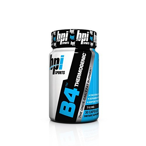 BPI Sports B4 The Once-Daily Fat Burner, 710mg 30-Count 710mg (Pack of 3)