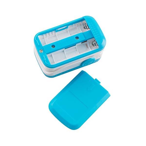 Carejoy Color OLED oximetro de Pulso de Dedo con Alarma Audio y Sonido del Pulso-SPO2Monitor Fingerpulsoximeter Pulsoximeter Pulsioxímetro Saturimetro Ossimetro 5