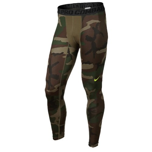 (Nike Mens Pro Combat Hypercool Woodland Compression Tights Xx-large)
