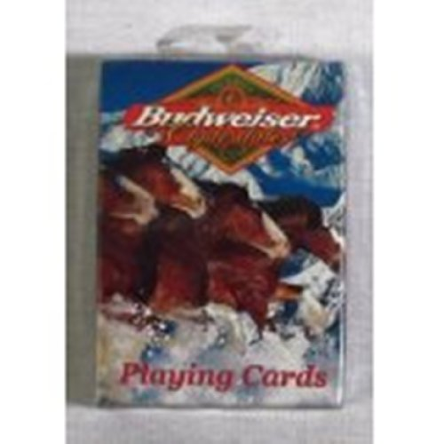 Budweiser Clydesdale Playing Cards