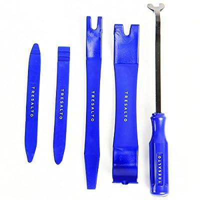 Tresalto Auto Trim Removal Tool Kit, Set of 5 Pcs