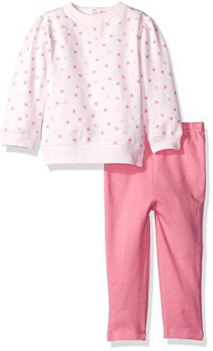 isaac-mizrahi-baby-girls-2pc-fleece-pant-and-top-set-pink-stars-24-months