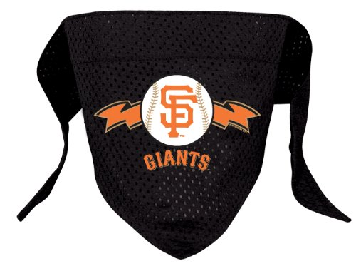 San Francisco Giants Pet Dog Baseball Jersey Bandana S/M, My Pet Supplies