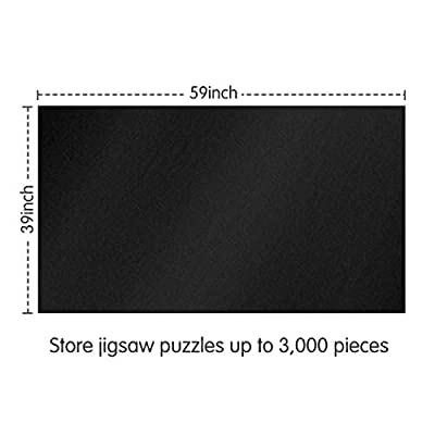 Lavievert Giant Felt Mat for Puzzle Storage Puzzle Saver, Jigsaw Puzzle Roll Mat for up to 3000-piece Puzzles: Toys & Games