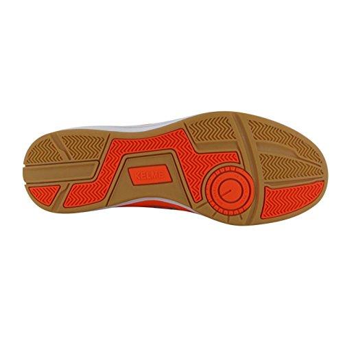 Kelme America Hallenfußball Futsal Turnschuhe Herren Orange/Fluo Fußball Sneakers