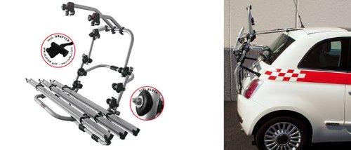 Viano Mercedes Benz - inkl Adapter und Montagesatz W629 Einfacher Fahrrad-Hecktr/äger 90306592 zum Transport von 3 R/ädern auf der Heckklappe f/ür Mercedes