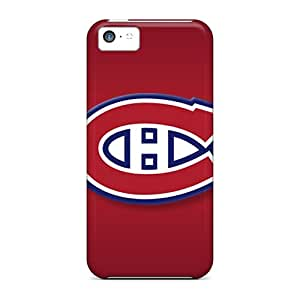IanJoeyPatricia Iphone 5c Excellent Cell-phone Hard Cover Customized HD Montreal Canadiens Series [YjK17396KhIG]