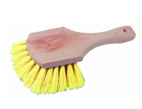 Bon 11-223 8-Inch Poly Bristle Short Handle Acid Brush