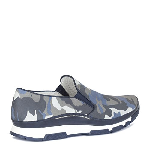 TJ Collection Men's Leather Military Slip-On Sneakers sale cost for sale cheap online sale cheapest price sale find great T3YeO8eIL