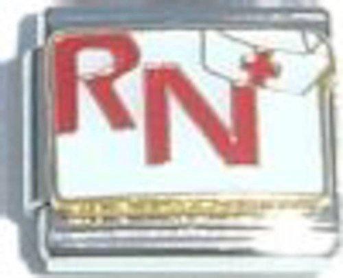 RN Nurse Hat Italian Charm