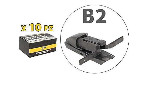 Kit 10 fijaciones Conectores Adaptadores Conectores B2 para ...