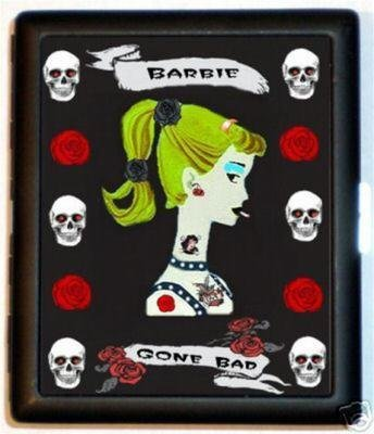 PUNK Goth Gone Bad Girl ID/Biz card/Cigarette - Bad Goth
