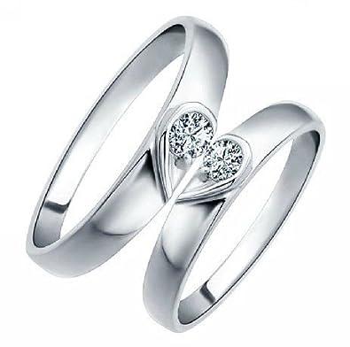 Chandrika Pearls Gems Jewellers Unisex Valentine Diamond Couple