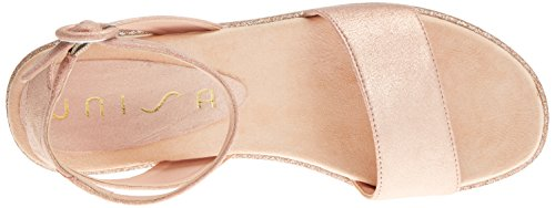Unisa Sandales Ballet Bueno Rose Bout MTS Ouvert Femme wwaxH6Fq