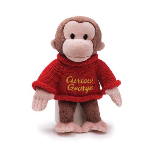 GUND Curious George Dressed in a Sweater 12