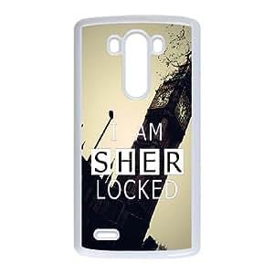 LG G3 phone cases White Sherlock fashion cell phone cases LIYT2248042