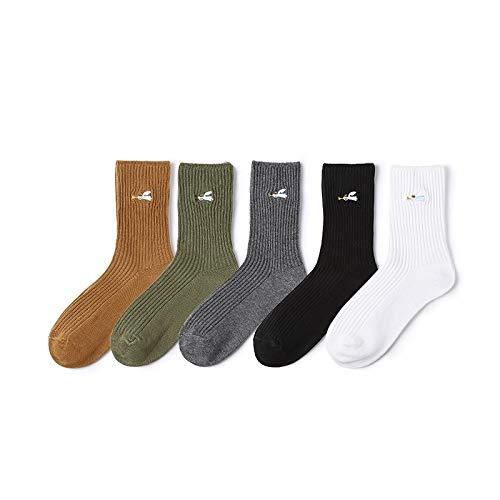 Hyf Socks 4 Pares Calcetines De La Colmena Kawaii Bordado Calcetines Harajuku Coreano Streetwear Calcetines Lindos Japoneses Lindos Calcetines De Las ...