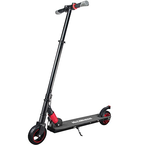 MEGAWHEELS Electric Scooter for Kids and Adults up to 14mph Ultra-Lightweight Foldable Electric Kick Scooter