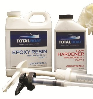 Totalboat 5 1 Epoxy Kit  Quart  Fast Hardener
