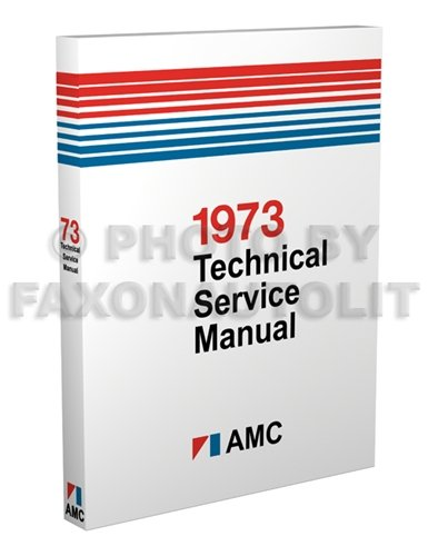 Manual Reprint AMX Javelin Gremlin Hornet Ambassador Matador ()