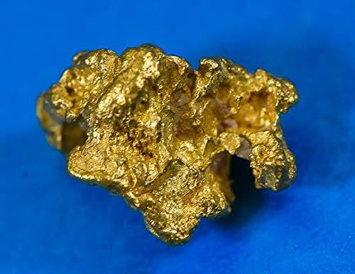858 Natural - #858 Australian Natural Gold Nugget 1.43 Grams Genuine