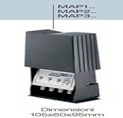 223511 3 INGRESSI VHF-UHF-UHF C//FILTRO LTE FRACARRO RADIOINDUSTRIE S AMPLIF