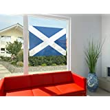 Flags of The World Poster-Adhesive Window Print - Scotland (39 x 27 inches)