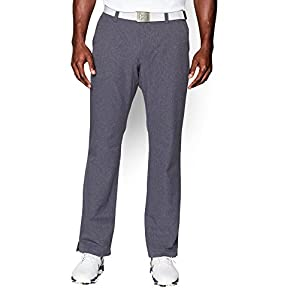 Under Armour Men's Match Play Vented Pants, Stealth Gray (008)/Stealth Gray, 42/30