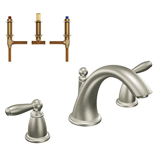 Price tracking for moen kgtbr d t4943bn brantford 6 1 2 inch garden tub faucet brushed nickel Amazon bathroom faucets moen