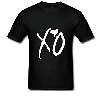 Xword Xo Drake The Weeknd Designed T shirt for man Black