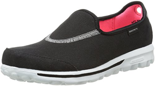 Noir Bkw Gowalk Marche Skechers Impress Femme Sandales de wYg0BdAx