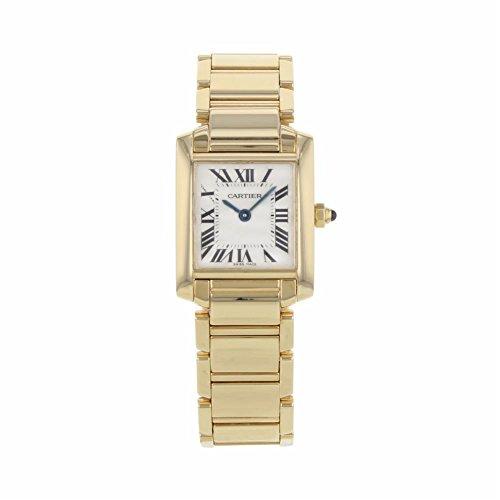 Cartier Tank analog-quartz womens Watch W500264H (Certified Pre-owned)