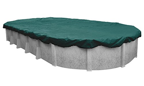 Robelle 391625-4 Supreme Plus Winter Pool Cover for Oval Above Ground Swimming Pools, 16 x 25-ft. Oval Pool (Pool Oval 15x25)