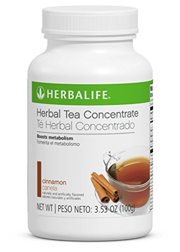 Herbalife Cinnamon Herbal Tea Concentrate 3.53 Oz