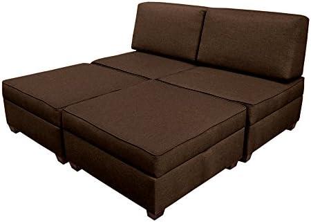 Duobed multifuntional King Sofa Sleeper