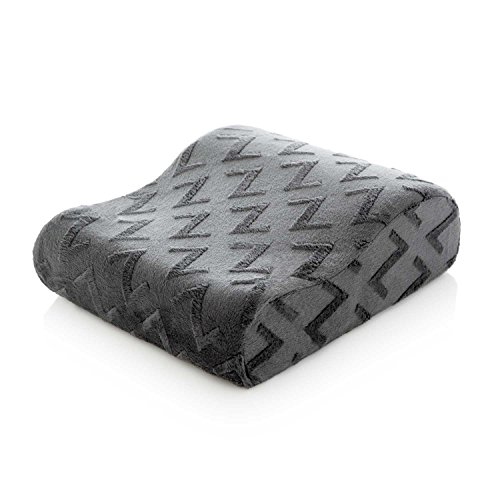 MALOUF Z TRAVEL SIZE Memory Foam Molded Contour Neck Pillow - Luxurious Rayon from Bamboo Velour Washable Cover by MALOUF (Image #3)