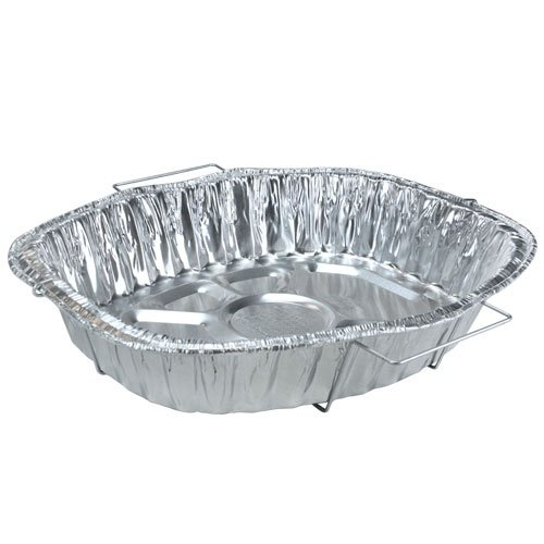 Nicole Home Collection 00613 Aluminum Oval Handle Rack Roaster (Pack of 50)
