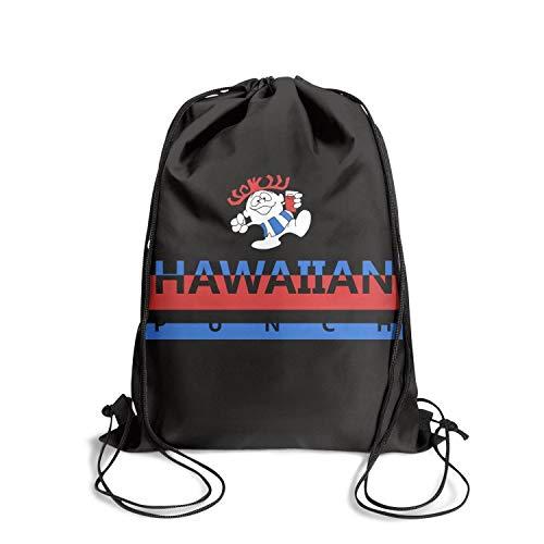 Vintage drawstring backpack Hawaiian fruit Punch gymsack bag school sinch sack]()
