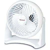 3 Speed Settings Honeywell Table Top Air Circulator Fan - White
