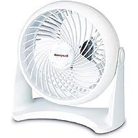 3 Speed Settings Honeywell Table Top Air Circulator Fan - White