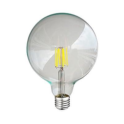 8w W El Filament 4000°kVerreE278 Vision 77155 Led G125 Ampoule RLq354Aj