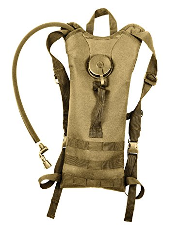 (3 Liter Hydration Systems w/ Backstrap Polyester Molle Compatible Water)