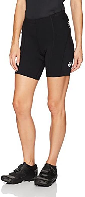 Black Large Canari Gel Century Shorts
